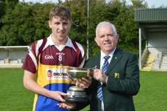Pres Cup to Cordal Scart capt team 2016 Final Div 2 ER Minor League 9 Oct Photo Nora Feeley DSC_0435