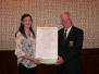 Presentation to Mary Philpott Scor Officer