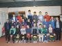 Presentation of 2014 U14 & U16 Co Championship Medals